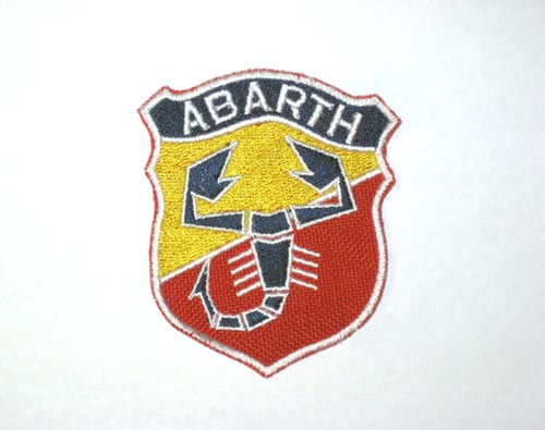 "patch ""ABARTH"" 75 mm"