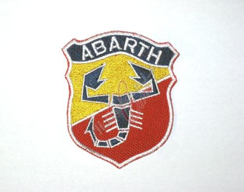 "patch ""ABARTH"" 50 mm"