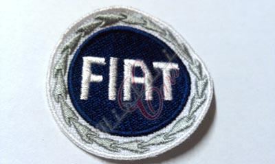 "patch ""FIAT"" blue 48 mm"