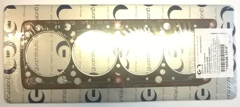 cylinder head gasket Fiat 124 Coupe/Spider 18/2000