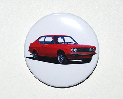 pin button Fiat 128 Coupe
