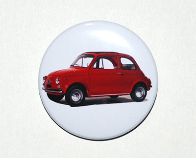 pin button Fiat 500