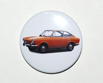 pin button Fiat 850 Sport Coupe