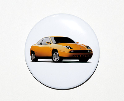 pin button Fiat Coupe